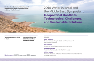 Water in the Middle East Poster