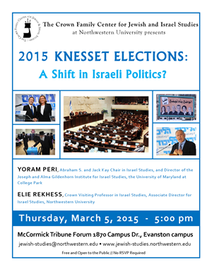Poster of Knesset Elections